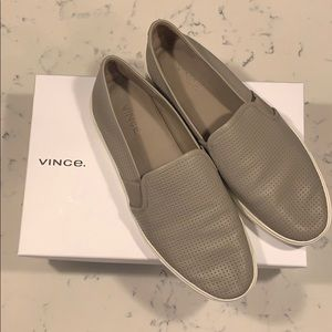Vince Blair Perforated Leather Sneakers